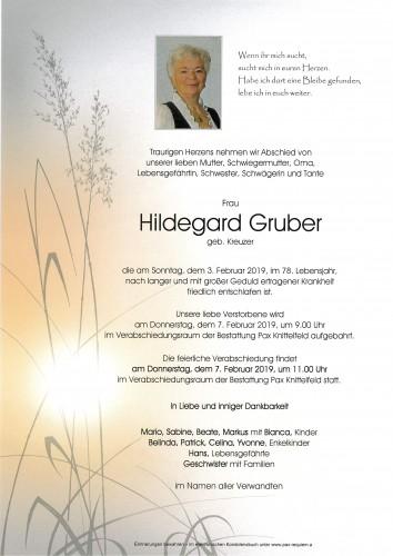 Hildegard Gruber