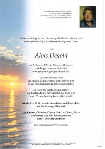Alois Degold