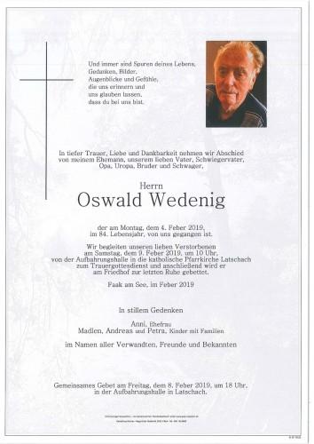 Oswald Wedenig
