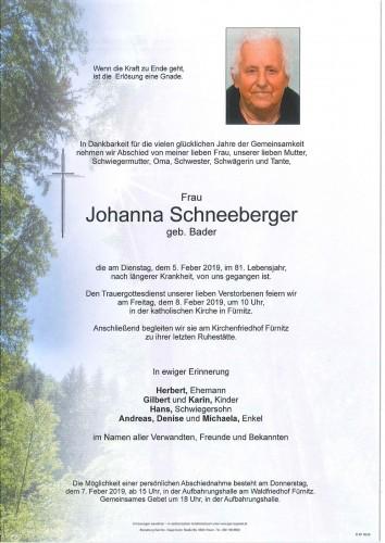 Johanna Schneeberger