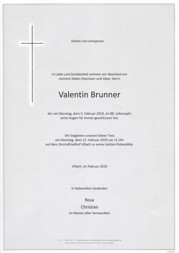 Valentin Brunner