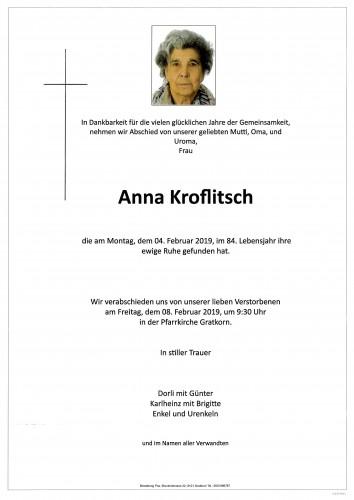 Anna Kroflitsch