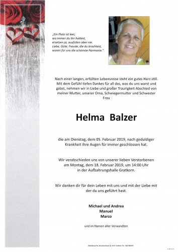 Helma Balzer
