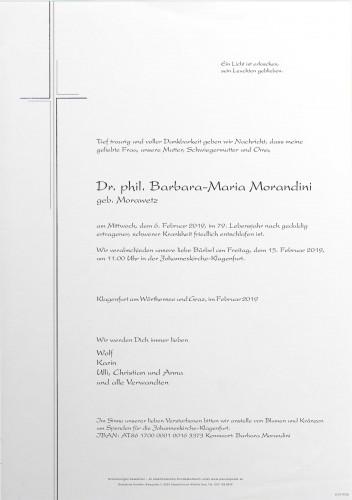 Dr.phil. Barbara-Maria Morandini