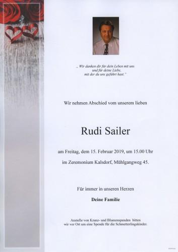 Rudi Sailer