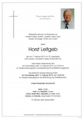 Horst Leitgeb
