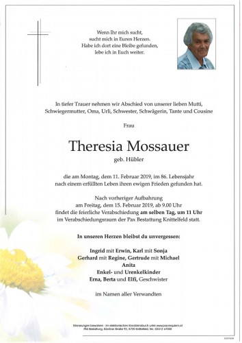 Theresia Mossauer