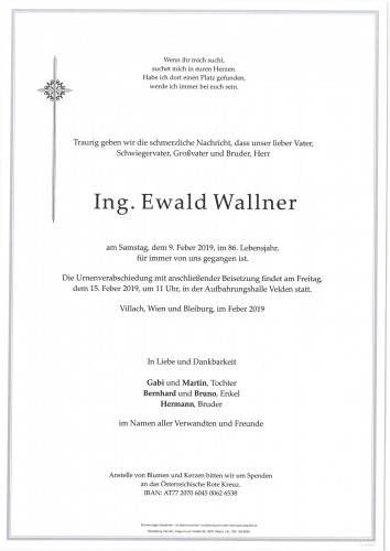 Ewald Wallner