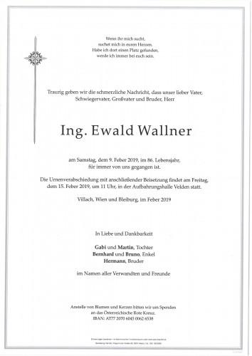 Ewald Wallner