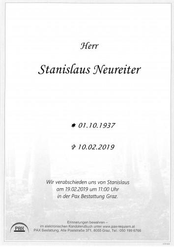 Stanislaus Neureiter