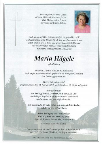 Maria Hägele