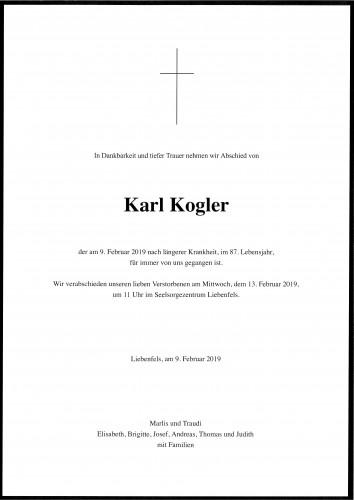 Karl Kogler