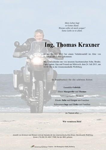 Ing. Thomas Kraxner