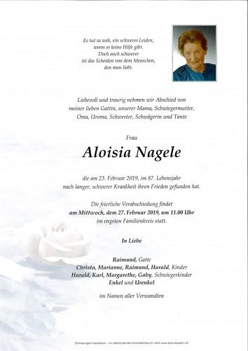 Aloisia Nagele