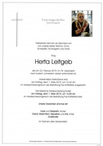 Herta Leitgeb