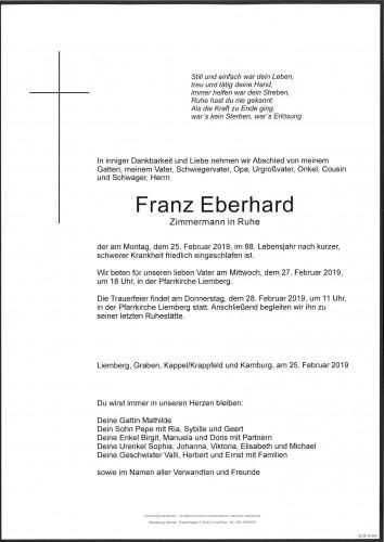 Franz Eberhard