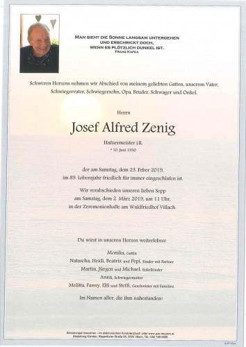 Josef Alfred Zenig