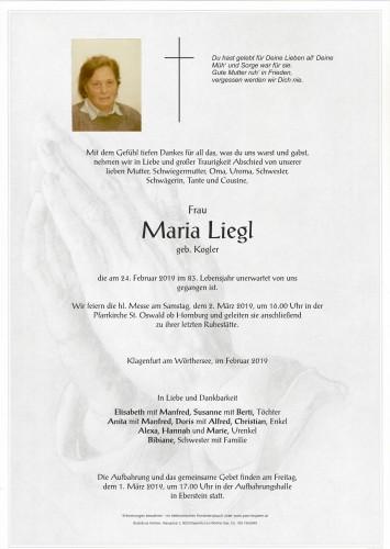 Maria Liegl