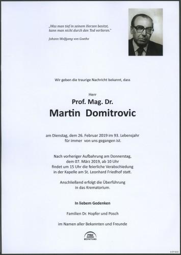 Dr.Martin Domitrovic