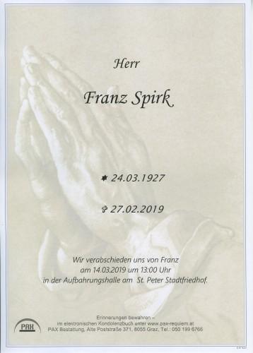 Franz Spirk