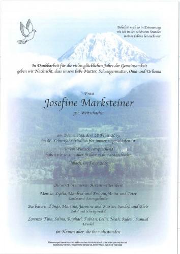 Josefine Marksteiner