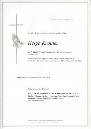 Helga Krainer