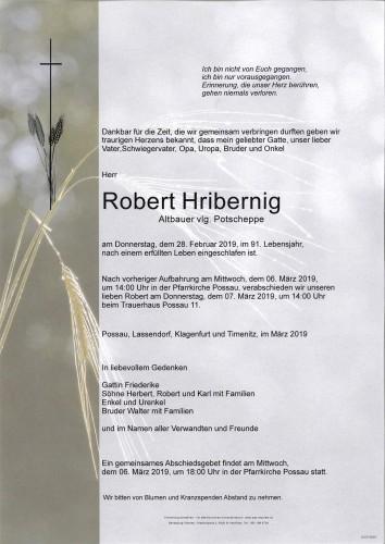 Robert Hribernig