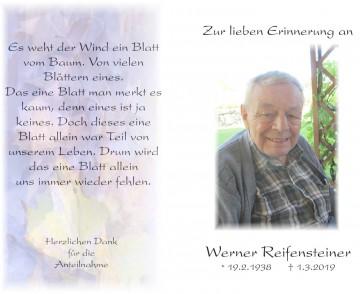 Werner Reifensteiner