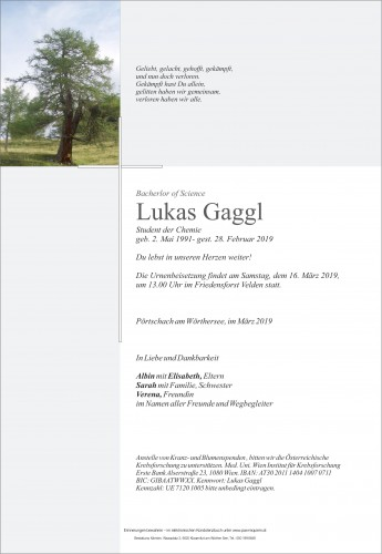 Lukas Gaggl
