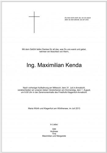 Maximilian Kenda