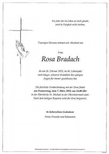 Rosa Bradach