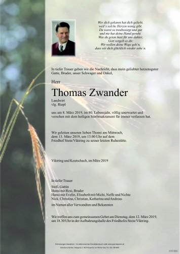 Thomas Zwander