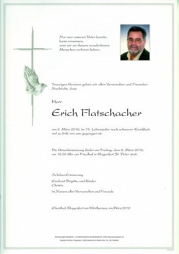 Erich Flatschacher