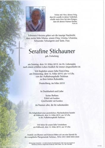 Serafine Stichauner