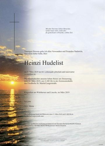 Heinzi Hudelist