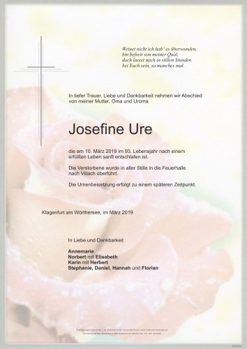 Josefine Ure
