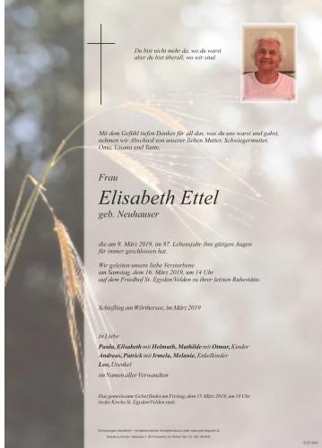 Elisabeth Ettel