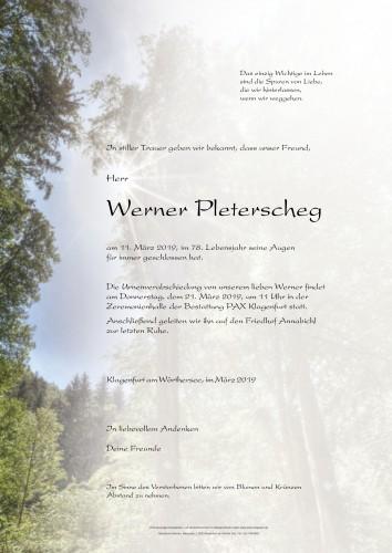 Werner Pleterscheg