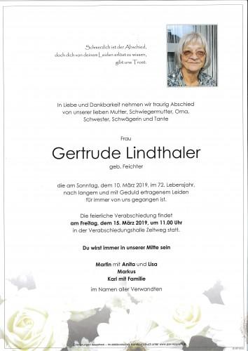Gertrude Lindthaler