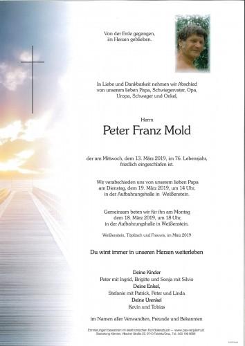 Peter Mold