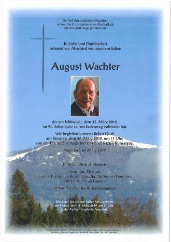 August Wachter