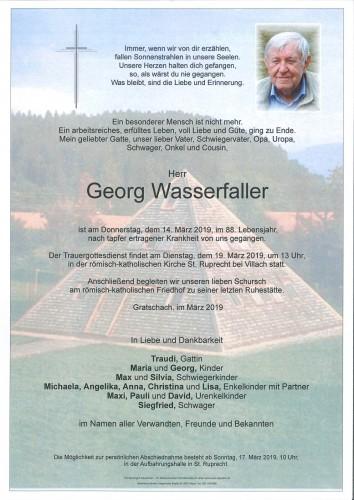 Georg Wasserfaller