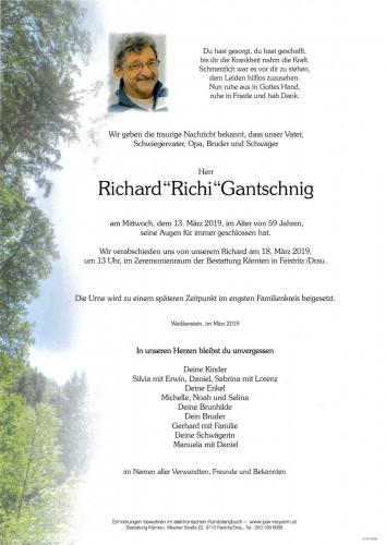 """Richard""""Richi""""Gantschnig"""