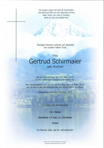 Gertrud Schirmaier