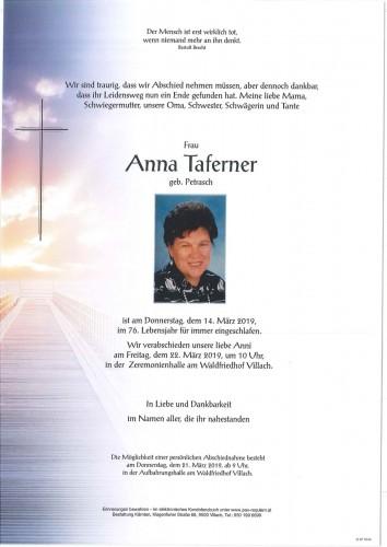 Anna Taferner