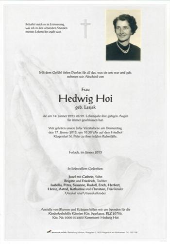 HOI Hedwig