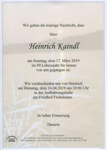 Heinrich Kaindl