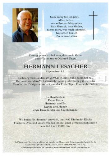 Hermann Lesacher