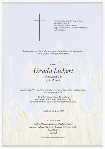 Ursula Liebert