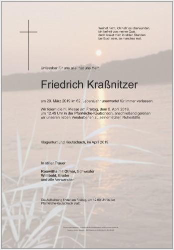 Friedrich Kraßnitzer